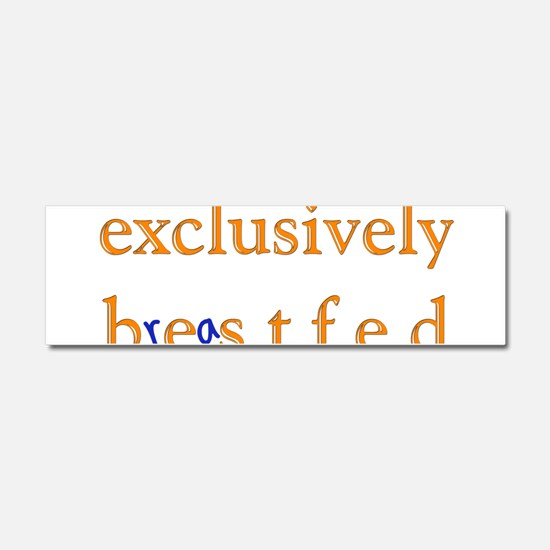 Exclusively BESTfed - Car Magnet 10 x 3
