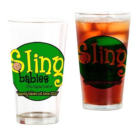 Sling Babies Fan - Drinking Glass