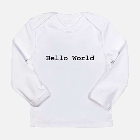 Funny Geek baby Long Sleeve Infant T-Shirt
