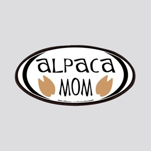 Alpaca Mom Oval Patches