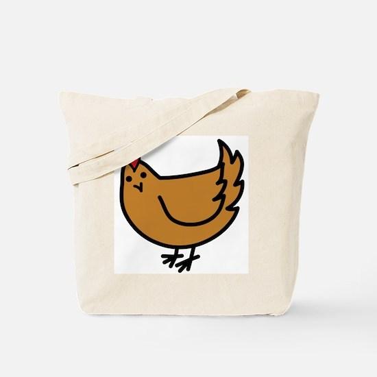 Cute Chicken Tote Bag