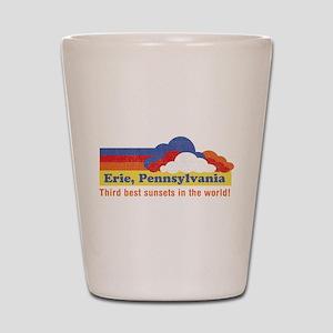 Erie, Pennsylvania Shot Glass