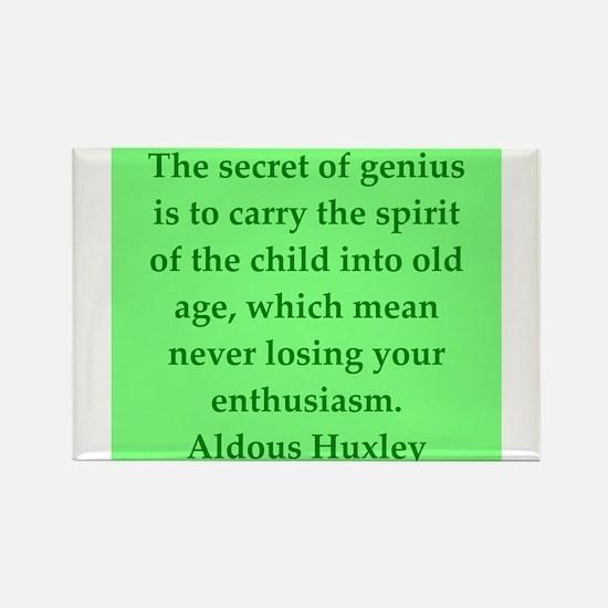 aldous huxley quotes Rectangle Magnet