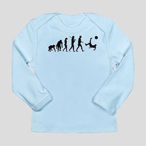 Soccer Evolution Long Sleeve Infant T-Shirt