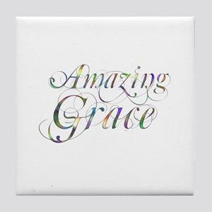 Amazing Grace Tile Coaster