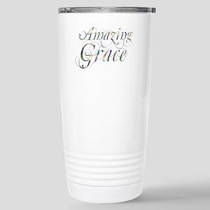 Amazing Grace Stainless Steel Travel Mug