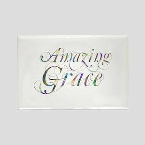 Amazing Grace Rectangle Magnet