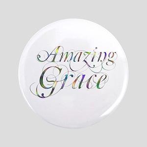 """Amazing Grace 3.5"""" Button"""
