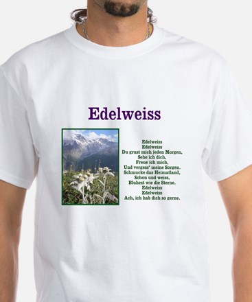 Edelweiss German Lyrics Men's T-shirt