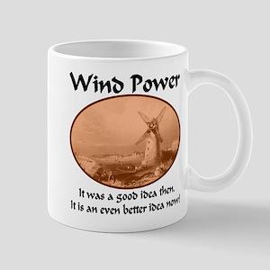 Wind Power Then & Now Mug