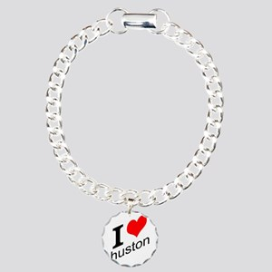 I (heart) Huston Charm Bracelet, One Charm