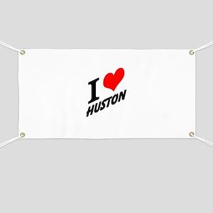 I (heart) Huston Banner
