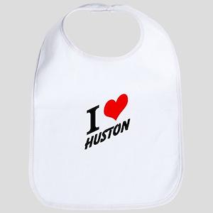 I (heart) Huston Bib