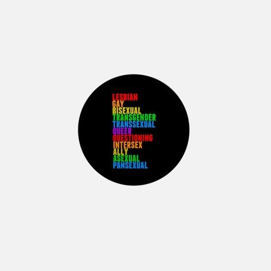 LGBTTQQIAAP Mini Button