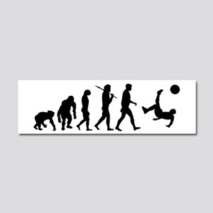 Soccer Evolution Car Magnet 10 x 3