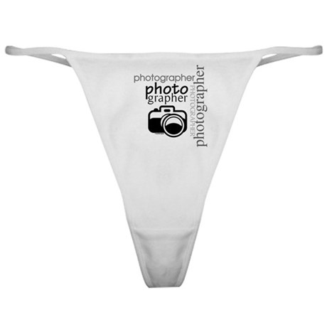 Photographer Classic Thong