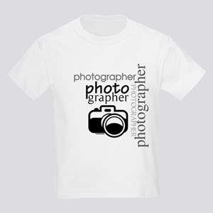 Photographer Kids Light T-Shirt