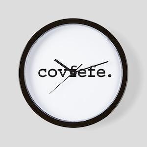 covfefe. Wall Clock