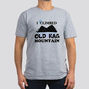 I Climbed Old Rag Mountain Men's Fitted T-Shirt (d