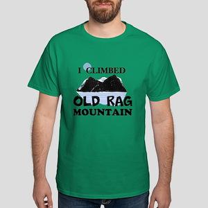 I Climbed Old Rag Mountain Dark T-Shirt