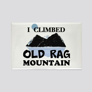 I Climbed Old Rag Mountain Rectangle Magnet