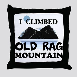 I Climbed Old Rag Mountain Throw Pillow