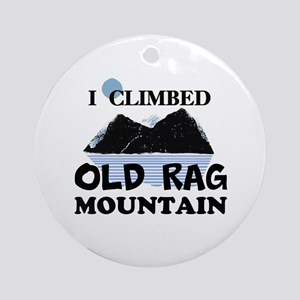 I Climbed Old Rag Mountain Ornament (Round)