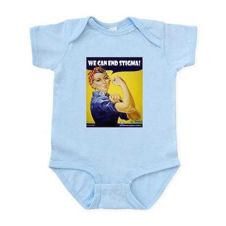 Rosie The Riviter Infant Bodysuit