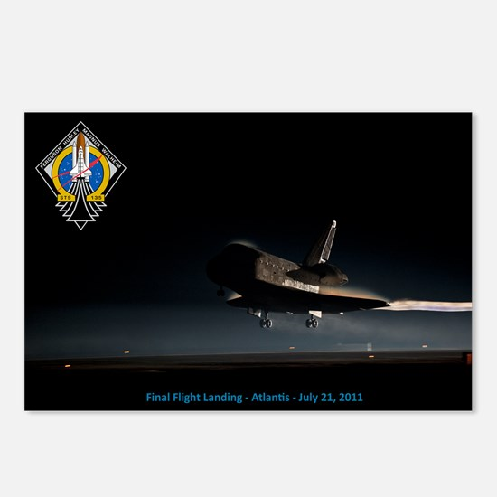 Final Flight Landing Postcards (Package of 8)