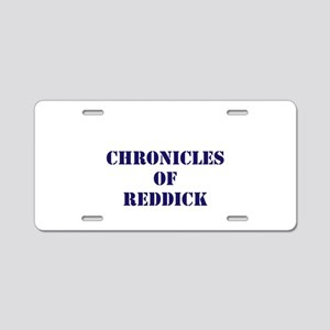 Red Sox Aluminum License Plate