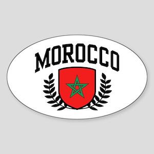 Morocco Sticker (Oval)