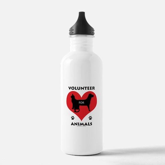 Volunteer for Animals Water Bottle