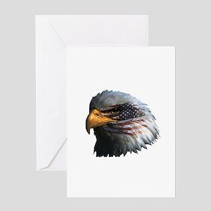 USA Eagle Greeting Card