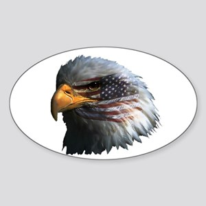 USA Eagle Sticker (Oval)