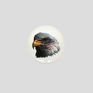 USA Eagle Mini Button