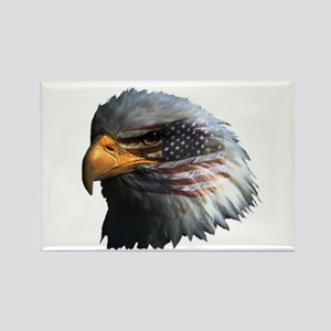 USA Eagle Rectangle Magnet