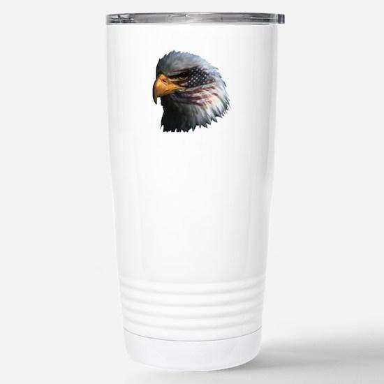USA Eagle Stainless Steel Travel Mug