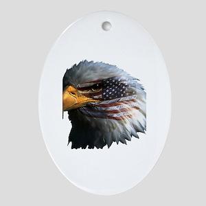 USA Eagle Ornament (Oval)