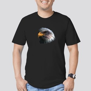 USA Eagle Men's Fitted T-Shirt (dark)