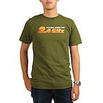 2.4 GHz Organic Men's T-Shirt (dark)