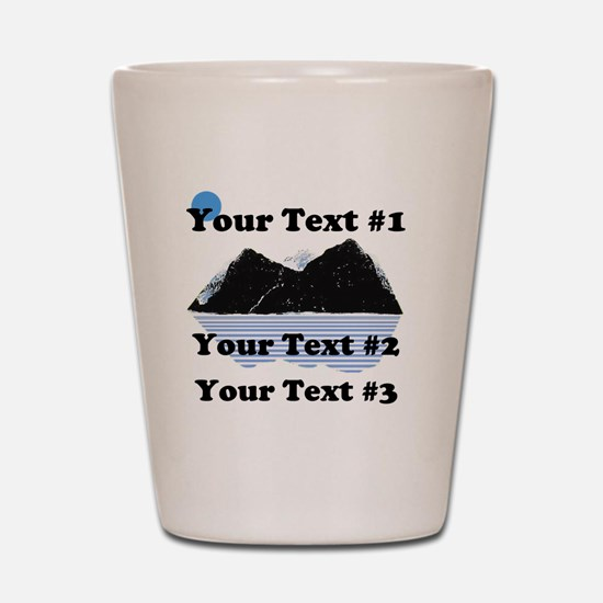Customize Your Text Shot Glass