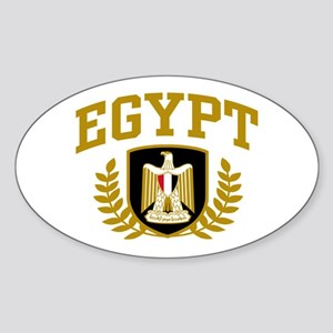 Egypt Sticker (Oval)