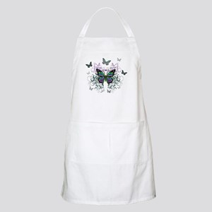 MultiColored Butterflies Apron