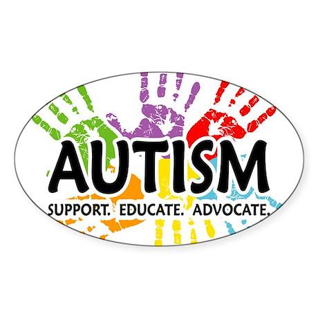 Rocks Spectrum Autism CafePress Rectangle Bumper Sticker Car Decal