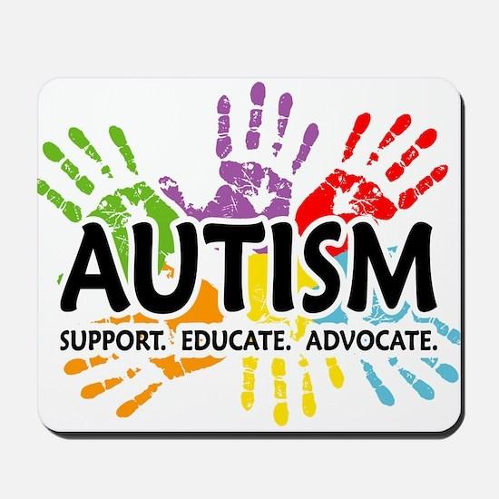 Autism:Handprint Mousepad