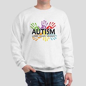 Autism:Handprint Sweatshirt