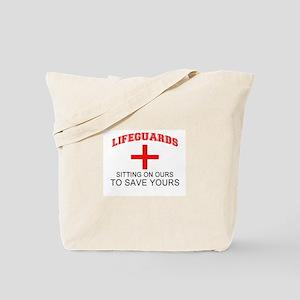 cc14d871b3c Lifeguard Canvas Tote Bags - CafePress
