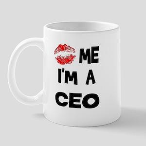 Kiss Me I'm A CEO Mug
