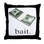 Bait Throw Pillow