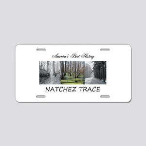 ABH Natchez Trace Aluminum License Plate